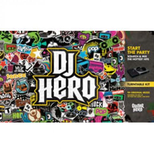 DJ Hero with Turntable