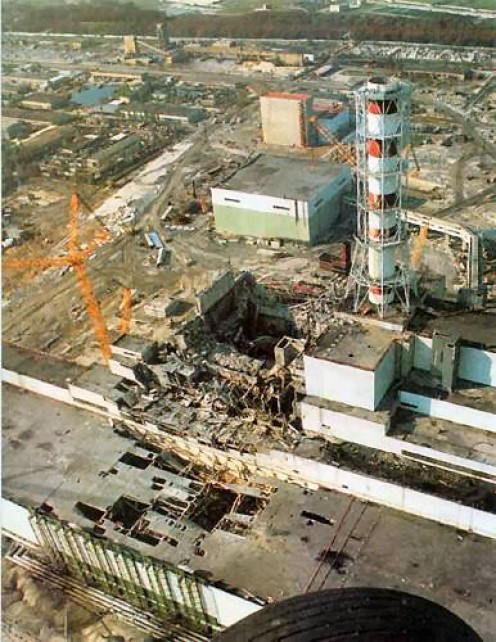 Chernobyl (Ukraine  Chornobyl) Nuclear Power Station Disaster - The reactor that 'melted'
