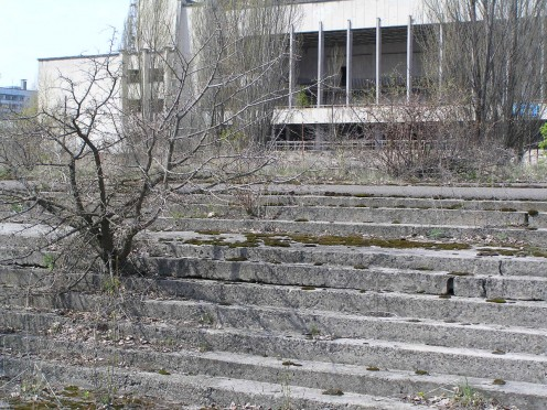 Chernobyl (Ukraine  Chornobyl) Nuclear Power Station Disaster - Today a ghost town