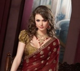 Saree Blouse Designs on Pinterest