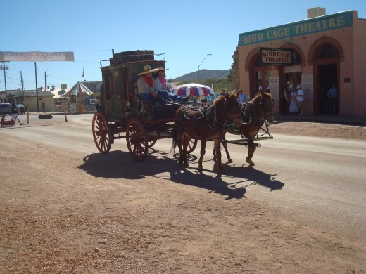 Stagecoach is comin!