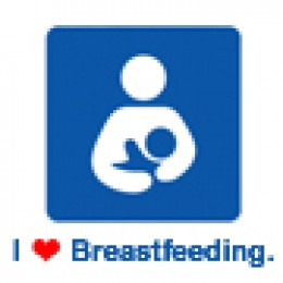 Image courtesy of the site for the International Breastfeeding Symbol.