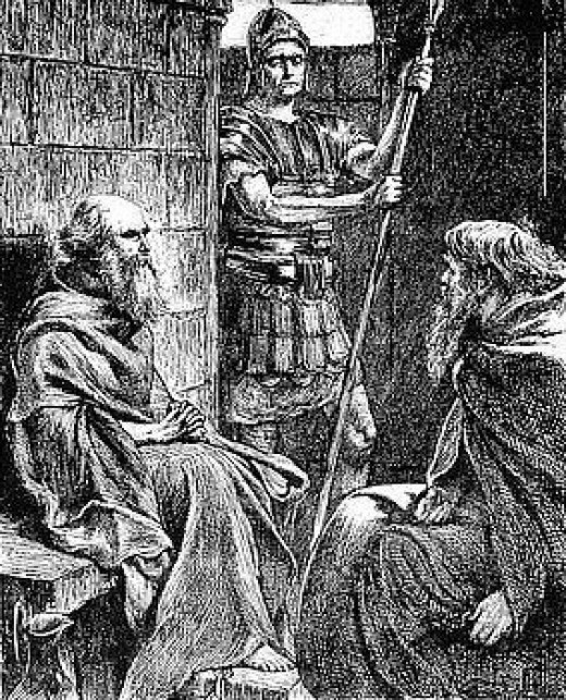 Guarded by a Roman soldier, Paul of Tarsus wrote transformational words of instruction that remain living & active today.