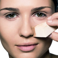 Cosmetic sponges allow even makeup application.