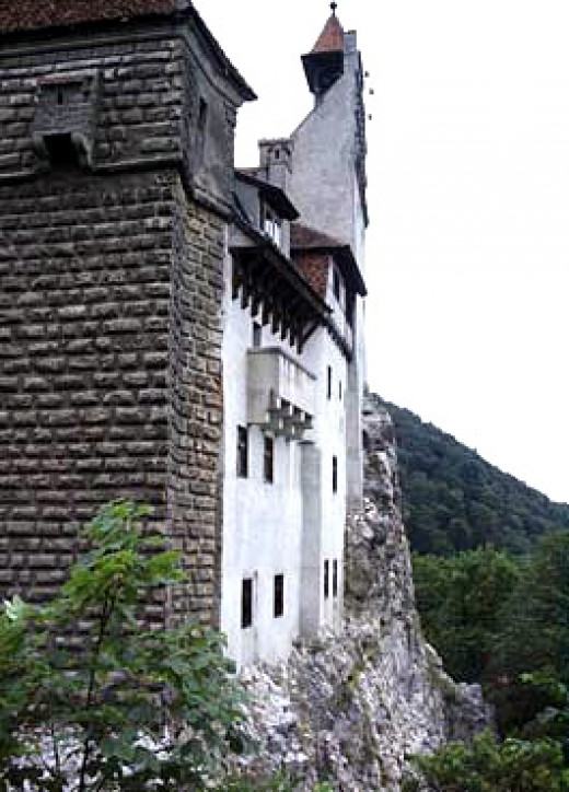 Bran Castle, one of his residences, near Brasov