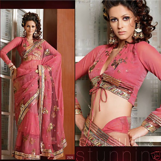 Hot Saree: Sarees are the garment of choice for an Indian woman.  Sarees are worn by 90% of Indian women and it is the most gorgeous clothing outfit for any woman.