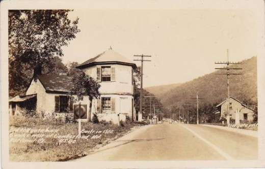 Toll House, US40 west of Cumberland, Maryland