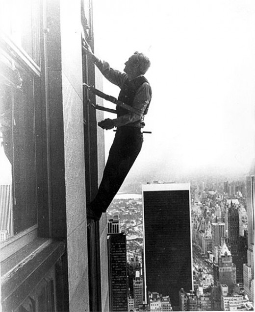 Start a Window Cleaning Business: Window Cleaner, 1923.