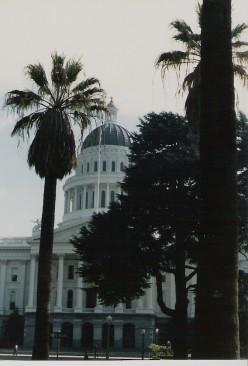 State Capitol. Sacramento, California.