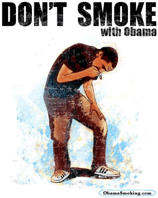 barack obama smoking. of Barack Obama smoking