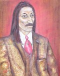 Oil Painting of Prince Vlad Dracula