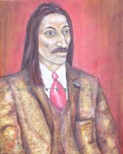 Oil Painting of Prince Vlad Dracula