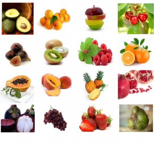 Variety Of Fruits That Aids In The Cure Cancer