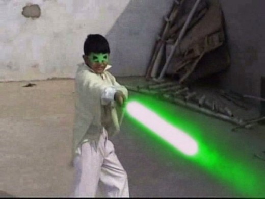 heer the green saber