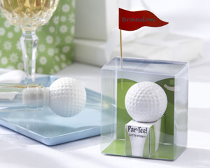Golf themed shower favor