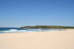 Maroubra a less visited Sydney beach