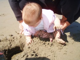 We are miraculously born with ten toes and ten fingers and we actually survive long enough to dig around in the sand.