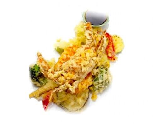 Le Cirque Soft Shell Crab Tempura - Ngayon ko lang nalaman na meron palang crab na soft ang shell nyaahihihihiSo ang ingredients dyan ay crab saka harina tapos may kamote at ang paborito ni Popeye na spinach P1,078 /platter