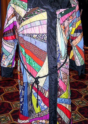 A representation of Joseph's coat of many colors.