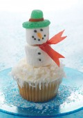 Snowman Cupcakes and Cookies