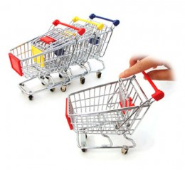 These small carts indicate a healthy birth rate among carts