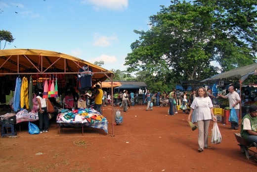 This is also the market in Santa Elena!