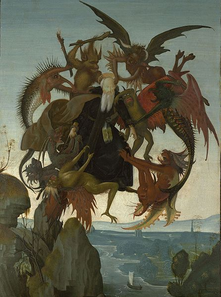 Michelangelo, The Torment of Saint Anthony, c. 1487-88.