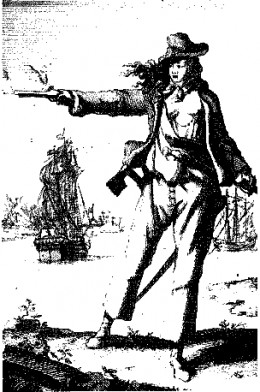 Anne Bonny, 18th Century Lady Pirate