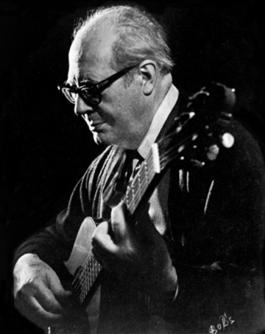 The Old Master, godfather of the modern guitar, Andres Segevia