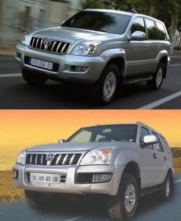 Toyota Prado vs Dadi Shuttle