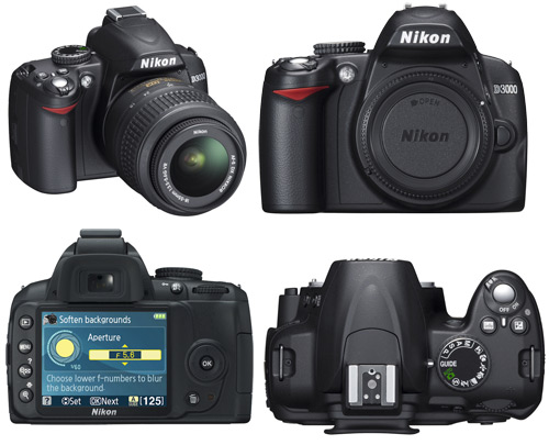 A few more images of the Nikon D3000