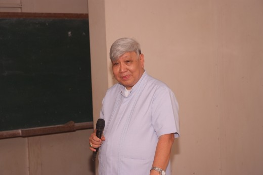 Roman Catholic Bishop Dinualdo Gutierrez is a popular anti-mining bishop in the Philippines. (Photo by MNO)