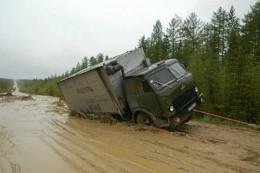 Siberian Road to Yakutsk Russia (ROAD OF BONES)