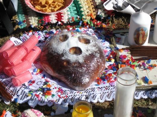 """Pan de los Muertos - """"Bread of the Dead"""" a special bread celebrating El Dia De Los Muertos"""