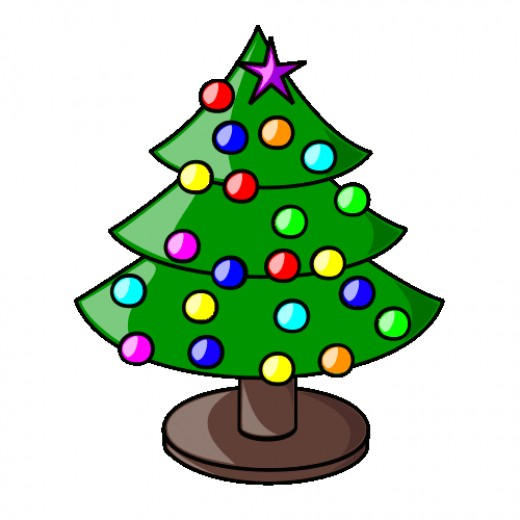 Xmas Tree.  Image by Wikimedia Commons.  CC BY-SA 3.0