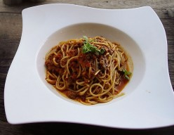 Guinness Spaghetti Meat Sauce