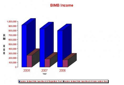 BIMB Income Graph