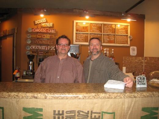 My good friends, Bruce Johnson & Ken Von Holten.