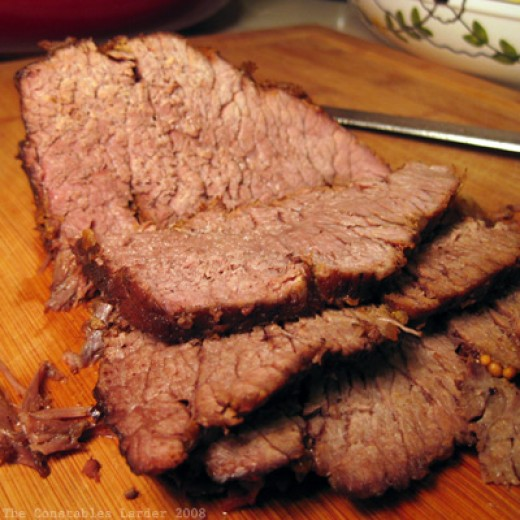 This is what the sliced beef looks like