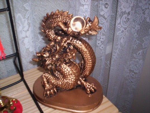 Feng Shui Single Dragon