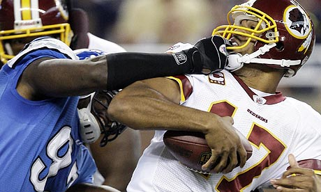 This will soon be remembered as the good old days by Jason Campbell and the Redskins
