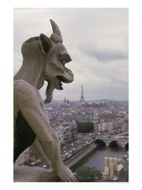 Gargoyles are used to ward away evil