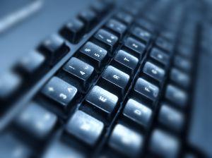 Computer Typing Backwards