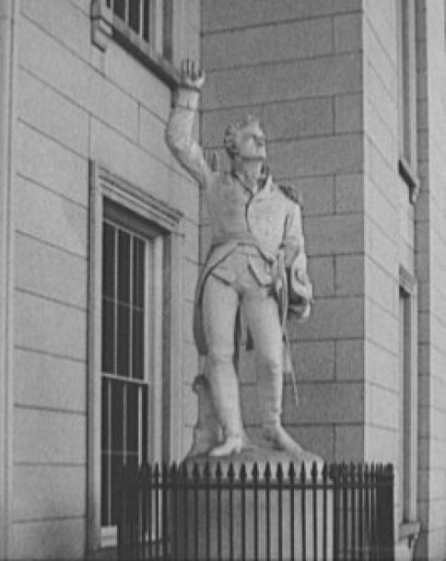Statue of Ethan Allen.