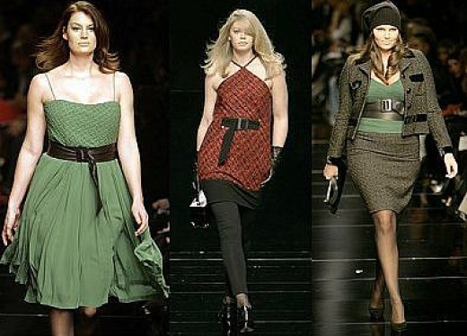 Plus Size Models On The Runway