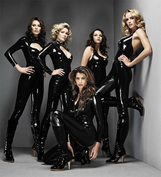 Almost all of the former Lara Croft models, Lucy Clarkson, Lara Weller, Jill de Jong, Nell McAndrew, and Karima Adebibe