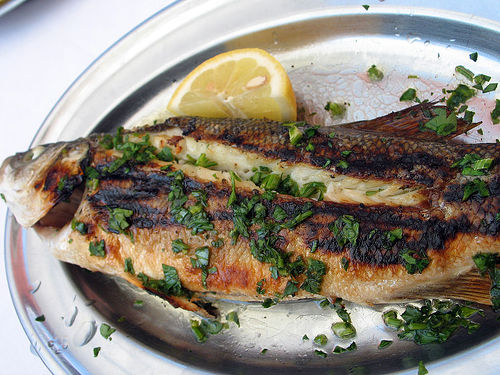 Grilled Whole Fish Is So Delicious And Tasty Especially With The Above Dipping Sauce.