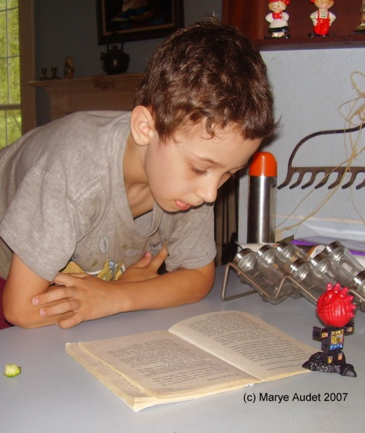 Homeschooling can foster a life long love of learning.Image(c)2007 Marye Audet