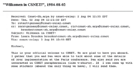 1984 CSNET