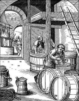 The Brewer, designed and engraved, in the Sixteenth Century, by J. Amman